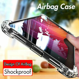 Case-For-IPhone-6-7-8-XR-Silicone-Hybrid-Skin-Clear-Transparent-TPU-Gel-Cover