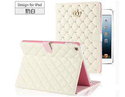 Luxury PU Leather Smart Case Stand Cover for ipad 2/3/4 ipad mini ipad 5 /ipad 6