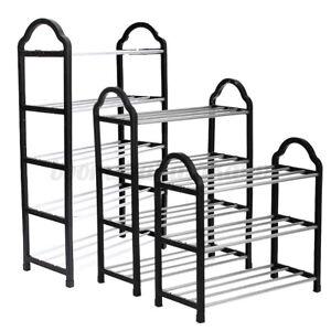 3-4-Tier-Shoe-Tower-Rack-Stand-Space-Saving-Organiser-Storage-Shelves-Shelf