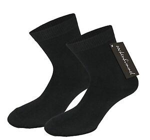 10-Paar-Damensocken-Freizeitsocken-in-schwarz-mit-95-Baumwolle-Elasthan-35-38