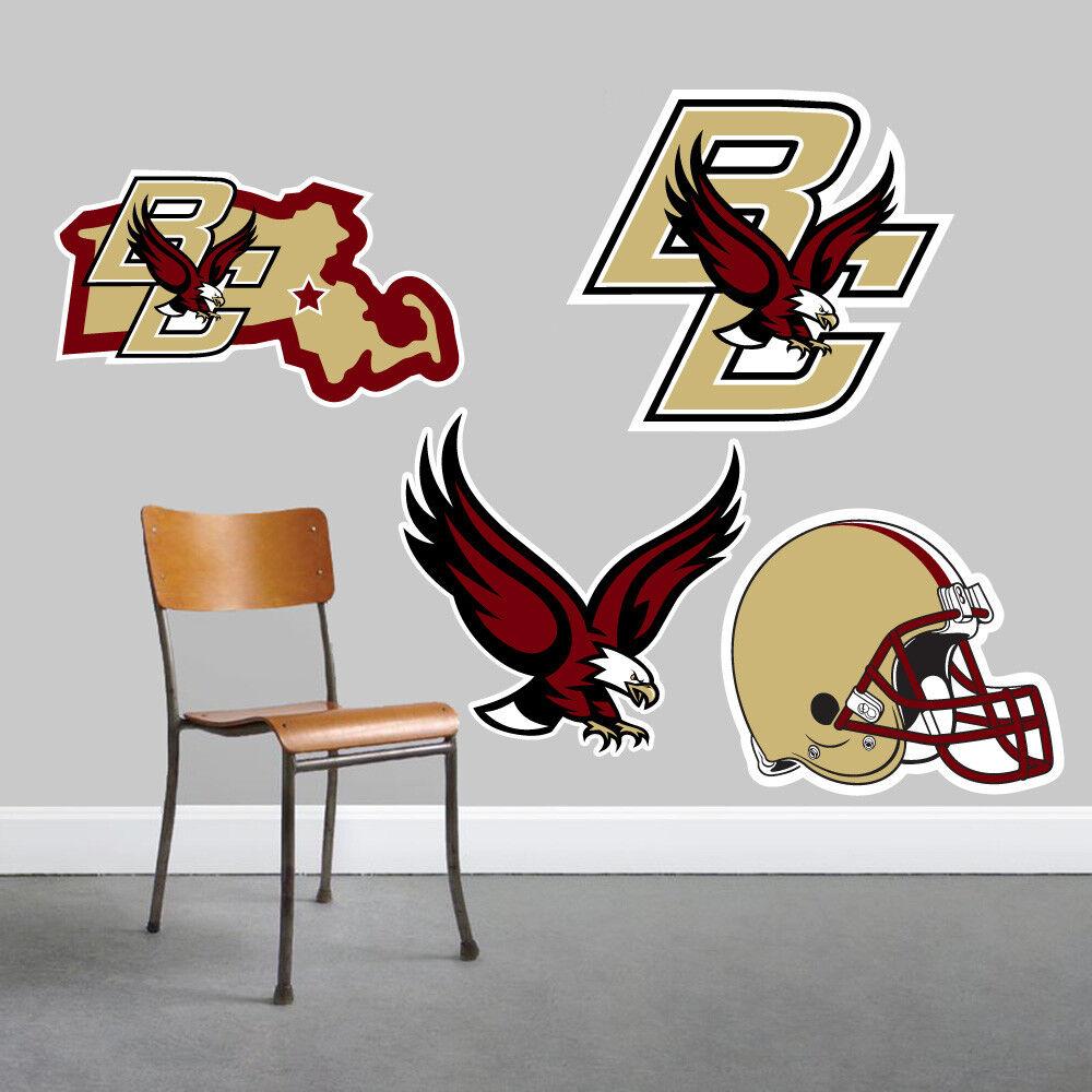 Boston College Eagles parojo arte conjunto de 4 piezas de gran tamaño --- NUEVO ---