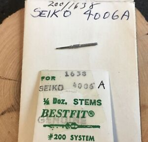 Vintage-Seiko-Bellmatic-alarm-watch-4005-4006-Winding-Stem-part-Bell-Matic