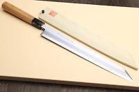 Yoshihiro Aonamiuchi Blue Steel 1 Yanagi Kiritsuke Sushi Sashimi Japanese Knife