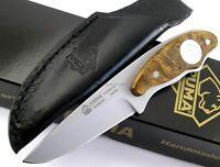 PUMA Solingen Germany Cobra Hunter Thuya Wood Handle Knife 133501TH