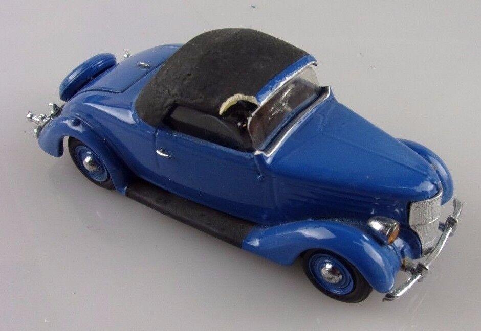 CCC 1 43e  Ford Roadster 1936 cabriolet ferme bleu à réparer