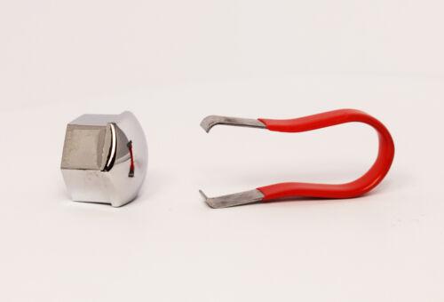 Cromo 21mm Universal Rueda Tuerca//Perno Cubre//Tapas