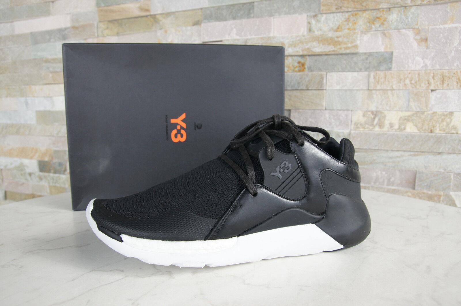 Y3 Y-3 Adidas Yamamoto Gr 40,5 D 6,5 Sneakers Schuhe QR RUN schwarz neu UVP 351