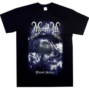 Mysticum-Planet-Satan-Shirt-S-M-L-XL-Official-Tshirt-Black-Metal-T-Shirt-New