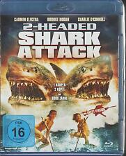 Blu-ray: 2-Headed Shark Attack - NEU & OVP  (Carmen Electra, Charlie O'Connell)