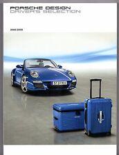 Porsche Design Driver's Selection Merchandise 2008-09 UK Market Sales Brochure