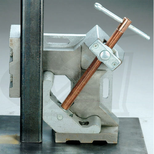 """Standard Screw 2-Axis Welders Angle Clamp with 4.80/"""" Jaw length"""