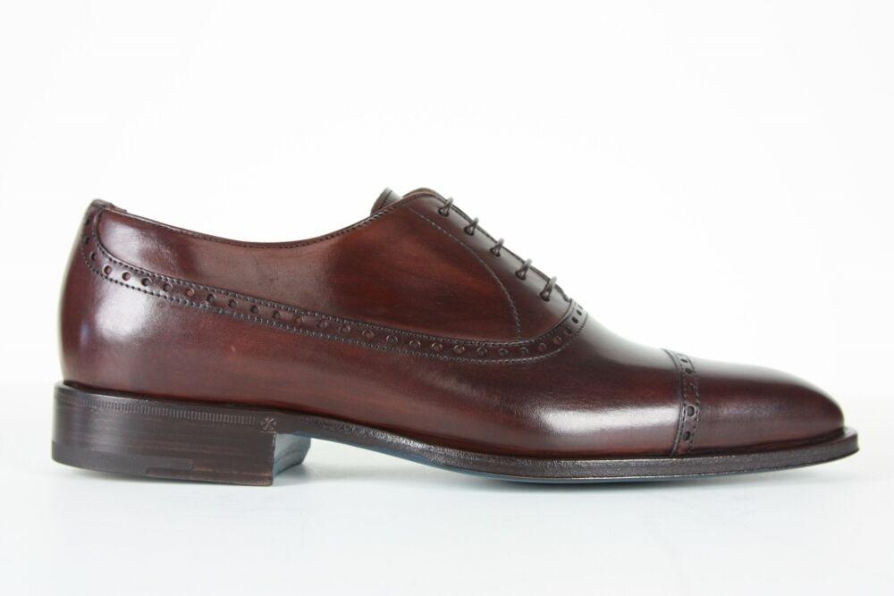 Sutor Mantellassi Mantellassi Sutor Zapatos marrón oscuro captoe Oxfords 1f0238
