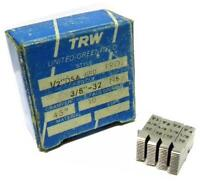 Set Of Trw Thread Chasers 1/2 Dsa Grd Proj To Cut 3/8 -32 Ns