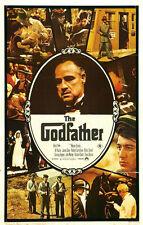 36Inch Art THE GODFATHER Movie Poster Mafia Copolla Marlon Brando Al Pacino P53