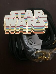 New-Disney-Cast-Member-Exclusive-Star-Wars-70s-Retro-Style-Bolo-Lanyard-Pin