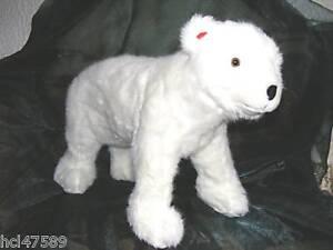 Arktis & Antarktis 60cm lang Neuware wunderschöner Bär Eisbär ca