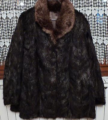 Veste Fourrure Ragondin Taille 42 44 Comme Neuve Ebay