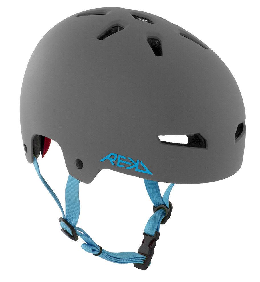 REKD - Elite Helmet - Grey bluee- Kids Crash Helmet