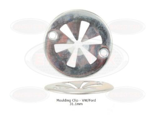 10x VW/Ford Metal Locking Star Washers - Underbody Heat Shield Fasteners