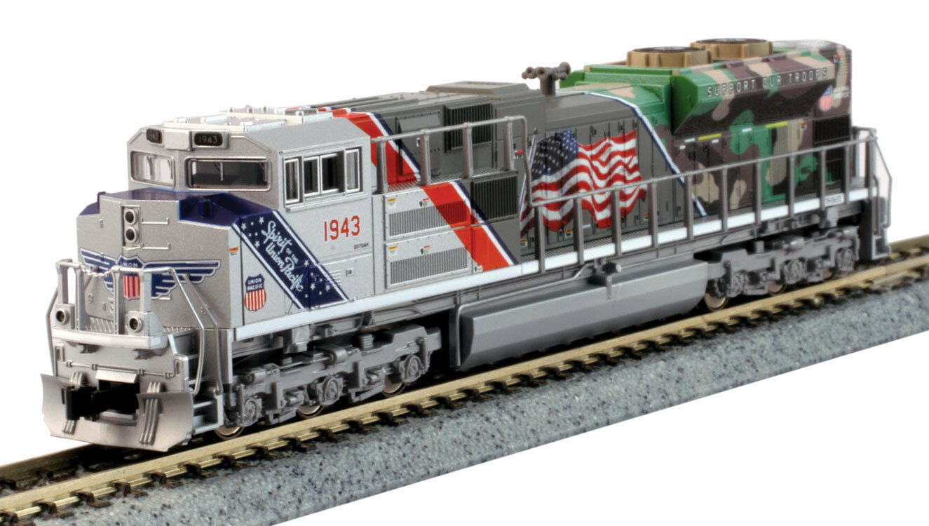 Escala N - Kato Locomotora Diésel EMD SD70ACe Union Pacific DCC 176-1943DCC Neu