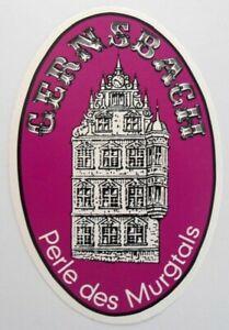 Souvenir-Aufkleber Gernsbach Murgtal Old Town Hall Rastatt Gaggenau Oberrhein