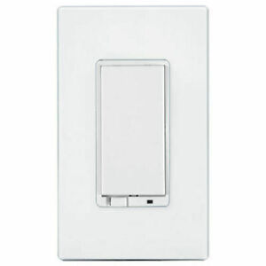 GE 12730 Z-Wave 3-Speed In-Wall Smart Fan Control - White Almond