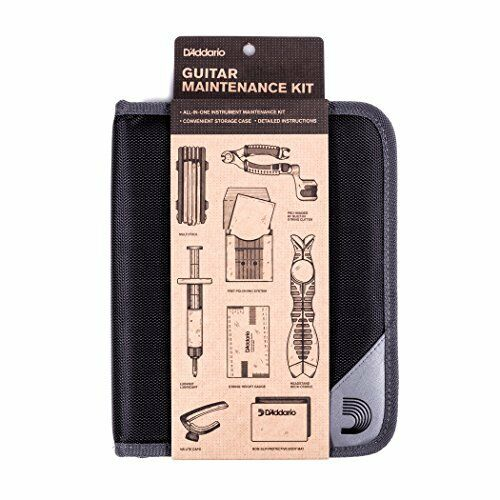 D'Addario Planet Waves PW-egmk - 01 Kit Kit Kit de mantenimiento de guitarra 628356