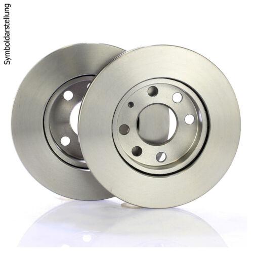 2 Bremsscheiben 257mm+Beläge Klötze vorne  Fiat Grande Punto Evo 199 Reiniger