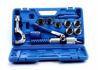 Hydraulic Tube Expander 7 Lever Tubing Expander Tool Swaging Kit Hvac Tools