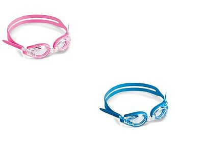 Prescription Optical Swimming Goggles For Kids Children Ages 3 - 9 Pink Girls Pl