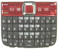 Brand New Original Nokia E63 Keypad - Red