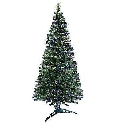 5ft (150cm) Fibre Optic 170 Tips Artificial Christmas Tree Decoration Xmas Decor