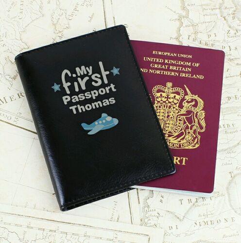 Personnalisé de mon premier Porte-passeport Baby 1st Vacances Enfants Porte-passeport