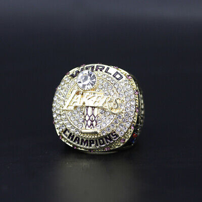 2020 LA Lakers LeBron James Championship Ring With Wooden ...