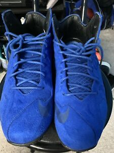 Nike LeBron 11 XI EXT Blue Suede QS Men s Size 10 DS Read ... cb3bf079b