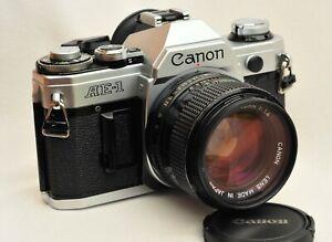 Canon-AE-1-Neue-Dichtungen-Canon-FD-50mm-1-4
