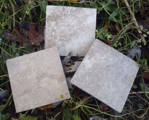 "set 3 poly plastic resin plaster cement tile molds 3/"" x 1//3/"" thick cast 100/'s"