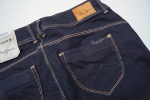 Pepe-Jeans-New-Brooke-Pantalon-Femmes-Hanche-Slim-Stretch-27-32-W27-L32-Noir