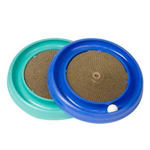 Bergan-Turbo-Scratcher-Kitten-amp-Cat-Track-Ball-Toy-with-Cardboard-Scratcher
