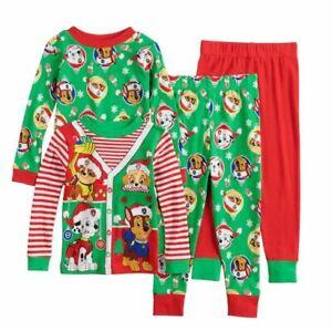 Toddler-boys-girls-Paw-Patrol-Christmas-Holiday-pajamas-Pajama-set-2T-CHOOSE-ONE
