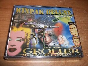 The-1996-Grolier-Multimedia-Encyclopedia-Winpak-Deluxe-CD-Set-WIN-95-NEW