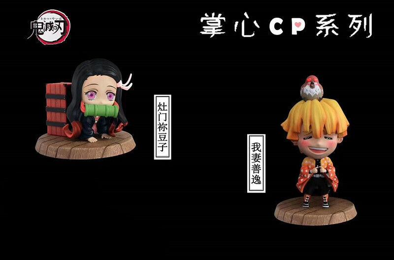 Demon Slayer Kimetsu No Yaiba Kamado Nezuko Agatsuma Zenitsu Resin Figure Pre N