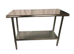 Stainless Steel Food Prep Work Table
