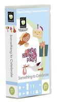 Cricut Something To Celebrate Cartridge Party Themed Cards, Tags, Boxes