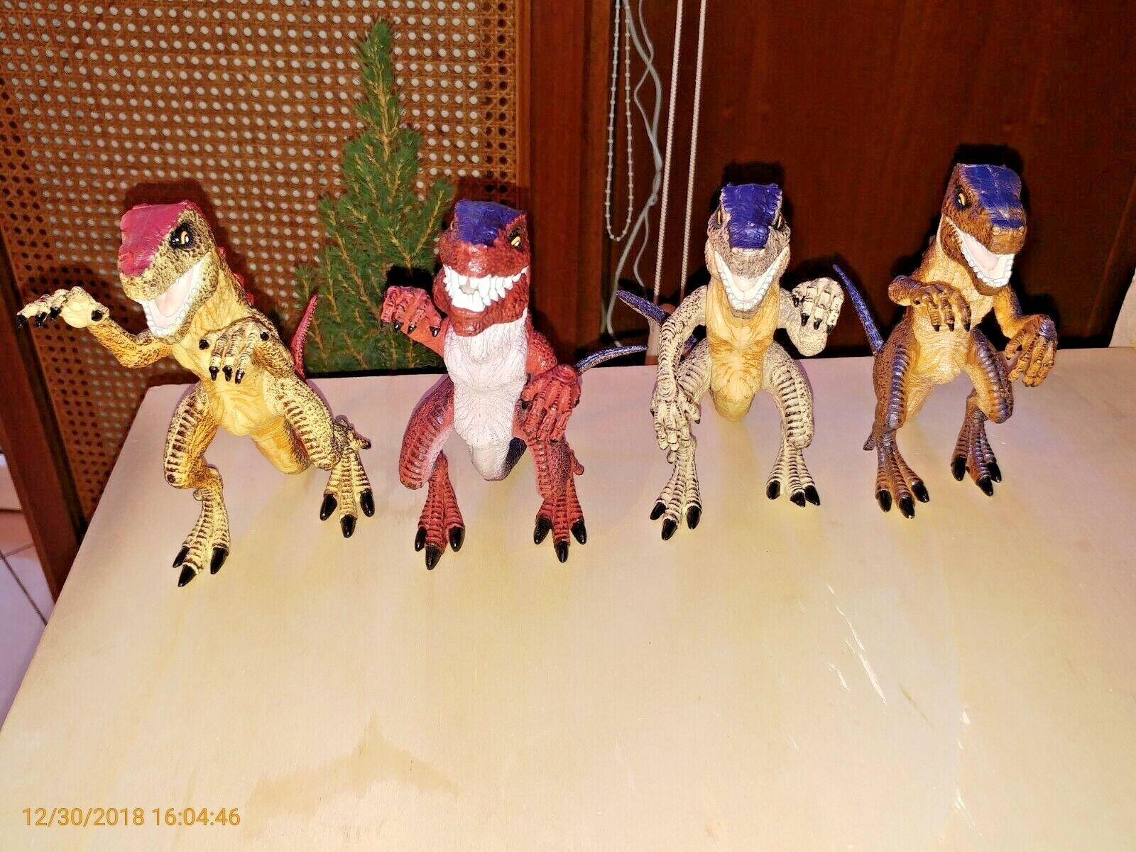 4 Baby Godzilla Trendmasters Action Figures 1998 Complete