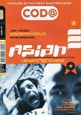 CODA #1 -ASIAN- Jimi Tenor, Underworld, Muslimgauze, Chaser, The End, Cassius...