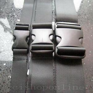 Luggage-Strap-Adjust-Pocket-belt-buckle-Nylon-Reusable-Tie-Hook-1-034-1-5-034-2-034