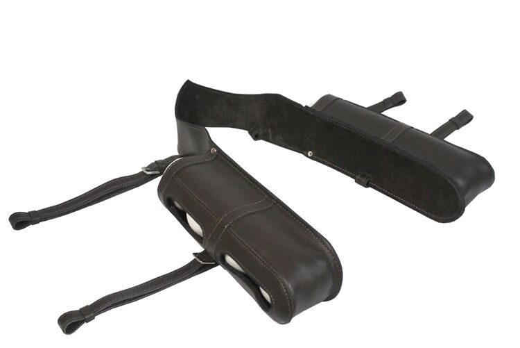 UMPIRE POLO BALL CARRIER ALL REAL TOP QUALITY LEATHER