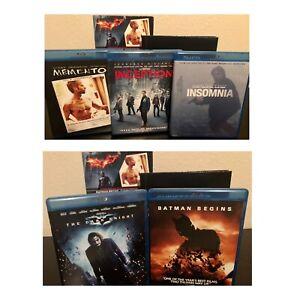 Christopher-Nolan-director-Coleccion-Bluray-Batman-inicios-Memento-insomnio