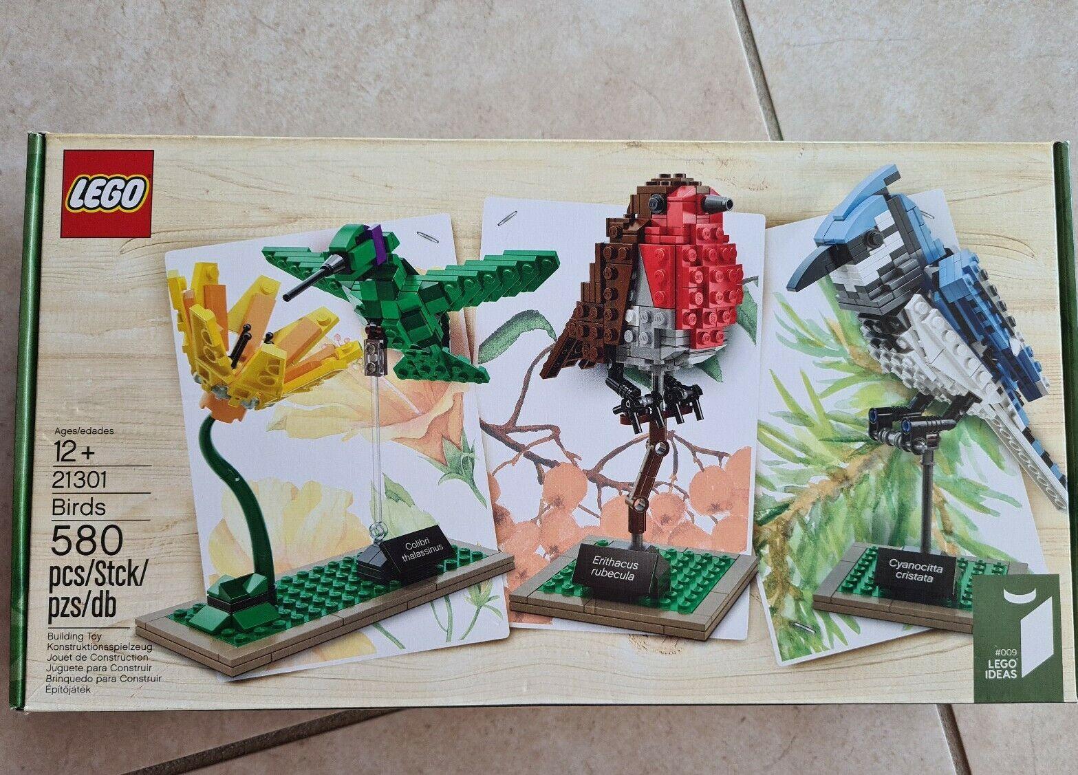 Brand New In Sealed Box Lego Ideas Set 21301 Birds Building Model Kit
